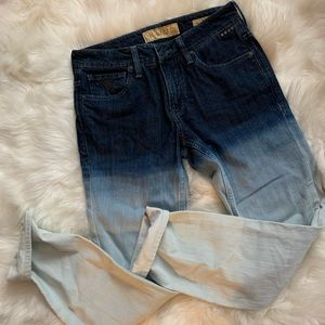 GUESS Bleach Dipped Jeans
